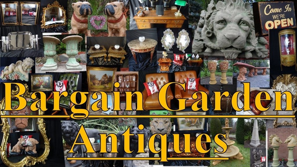 Logo tuincentrum Bargain Garden Antiques