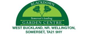 Logo tuincentrum Blackdown Garden Centre