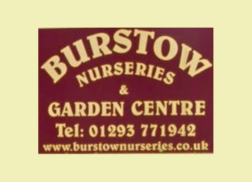 Logo tuincentrum Burstow Nurseries