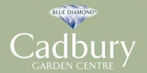 Logo tuincentrum Blue Diamond Cadbury Garden Centre