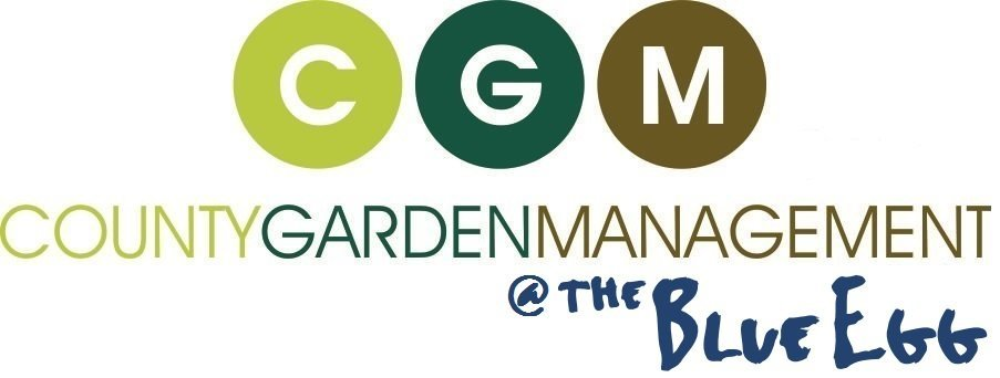 Logo tuincentrum CGM @ the Blue Egg