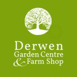 Logo Derwen Garden Centre and Farm Shop