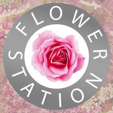 Logo tuincentrum Flowerstation