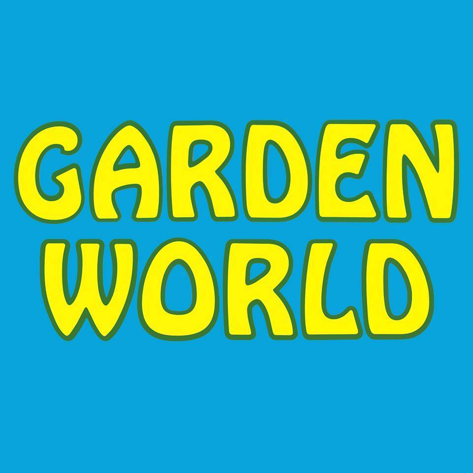 Logo tuincentrum Garden World Garden Centre