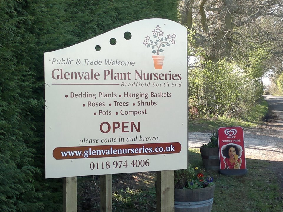 Logo tuincentrum Glenvale Nurseries