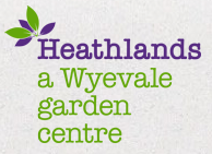 Logo tuincentrum Heathlands Garden Centre