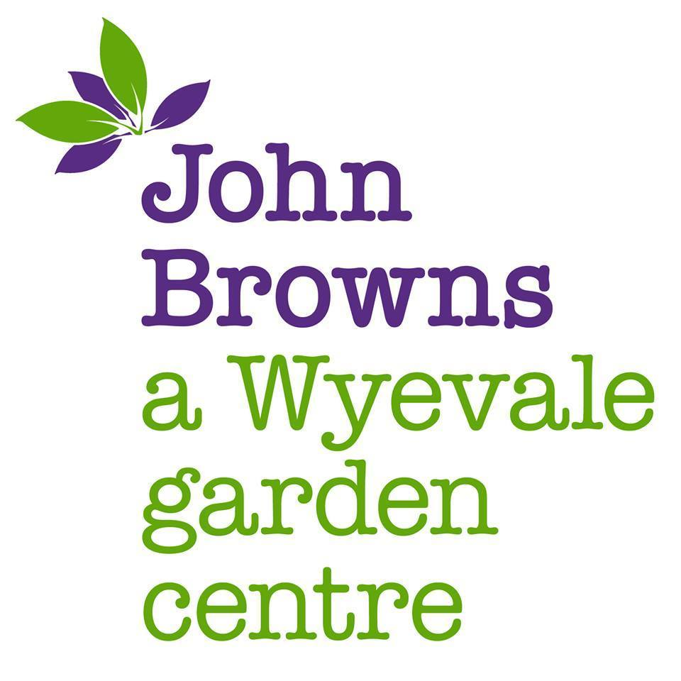 Logo tuincentrum John Browns, A Wyvale Garden Centre