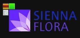 Logo tuincentrum Sienna Flora