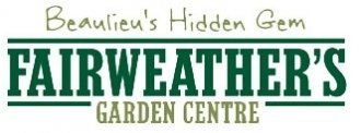 Logo tuincentrum Fairweathers Garden Centre