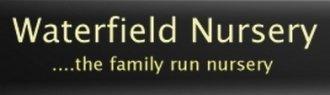 Logo tuincentrum Waterfield Nursery