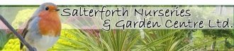 Logo tuincentrum Salterforth Nursery