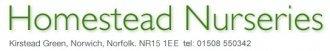 Logo Homestead Nurseries