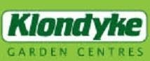 Logo tuincentrum Klondyke Garden Centre-Stringers