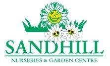 Logo tuincentrum Sandhill Garden Centre