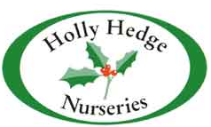 Logo tuincentrum Hollyhedge Nurseries