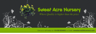 Logo tuincentrum Sweet Acre Nursery