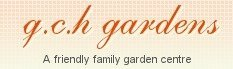Logo tuincentrum GCH Gardens