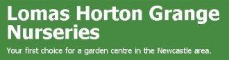 Logo tuincentrum Lomas Horton Grange Nuseries