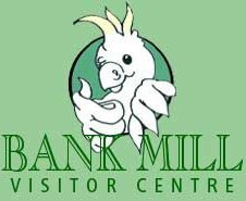 Logo tuincentrum Bank Mill Nurseries