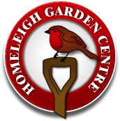 Logo tuincentrum Homeleigh Garden Centre