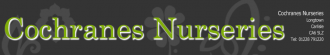 Logo tuincentrum Cochrane's Nurseries