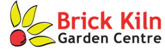 Logo tuincentrum Brick Kiln Garden Centre
