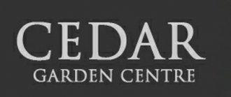 Logo tuincentrum Cedar Garden Centre