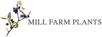 Logo tuincentrum Mill Farm Plants