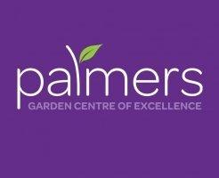 Logo tuincentrum Palmers Garden Centre