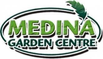 Logo tuincentrum Medina Garden  Centre & Butterfly world