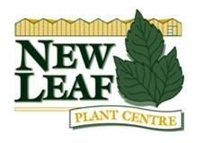 Logo tuincentrum New Leaf Plant Centre