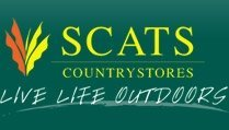 Logo tuincentrum SCATS Countrystores Godalming