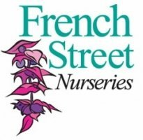 Logo tuincentrum French Street Nurseries
