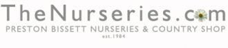 Logo tuincentrum Preston Bissett Nurseries and Country Shop