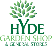 Logo tuincentrum Hyde Garden Shop