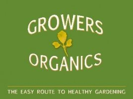 Logo tuincentrum Growers Organic Plant Centre