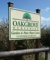 Logo tuincentrum Oakgrove Nurseries