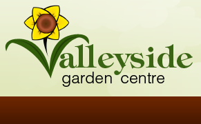 Logo tuincentrum Valleyside Garden Centre