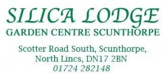 Logo tuincentrum Silica Lodge Garden Centre