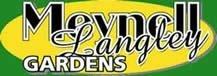 Logo tuincentrum Meynell Langley Gardens