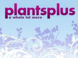 Logo tuincentrum Plants Plus