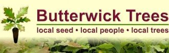 Logo tuincentrum Butterwick Trees