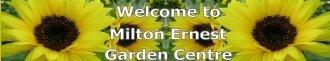 Logo tuincentrum Milton Ernest Garden Centre