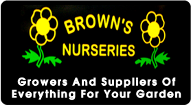 Logo Browns Nursery