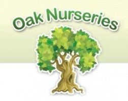 Logo tuincentrum Oak Nurseries