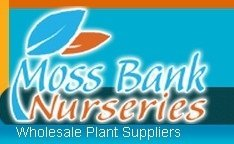 Logo tuincentrum Moss Bank Nurseries