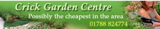 Logo tuincentrum Crick Garden Centre