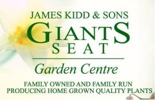 Logo tuincentrum James Kidd & Sons