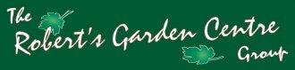 Logo tuincentrum Roberts Garden Centre