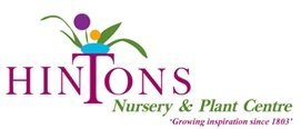 Logo tuincentrum Hintons Nursery